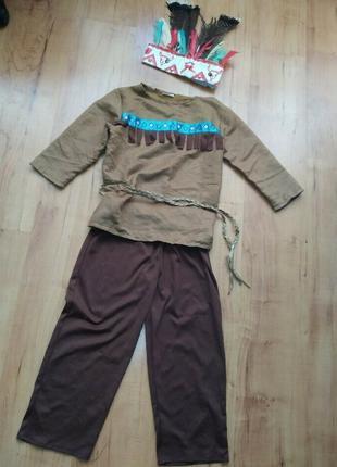 Карнавальный костюм детский индеец
