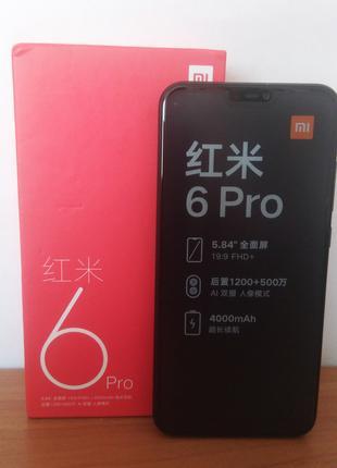 "Xiaomi Redmi 6 Pro 4/64gb 5.84"""