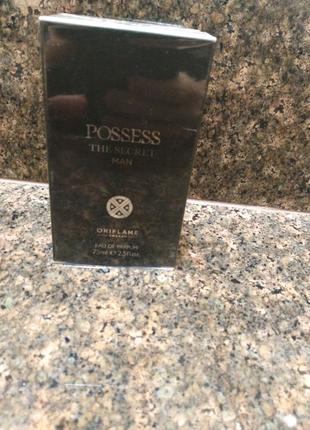 Парфюмерная вода Possess the secret man oriflame 75ml Позесс