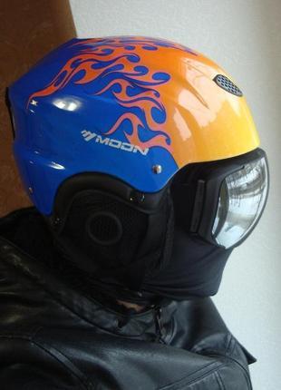 Горнолыжный шлем сноубордический лыжный сноуборд лижний шолом