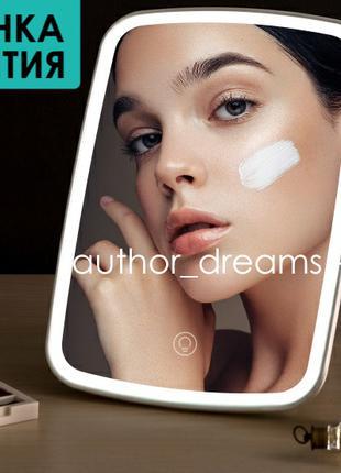 Xiaomi Jordan Judy LED Makeup Mirror NV505 зеркало с подсветкой