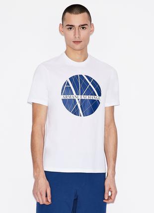 Мужская футболка Armani Exchange Белая M