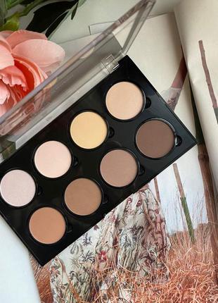 Nyx professional makeup highlight & contour pro palette палетк...