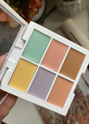 Цветная палитра корректирующих средств nyx professional makeup...