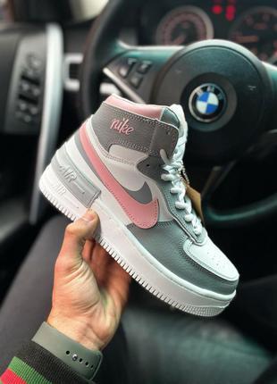 Кроссовки на меху nike air force