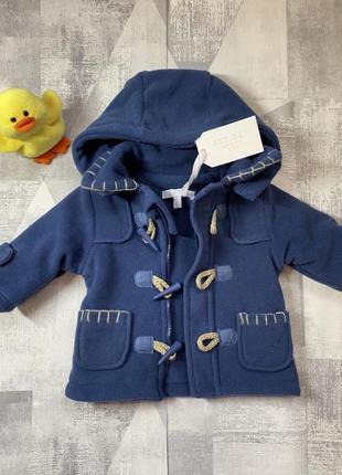 Флисовое пальто для мальчика, новое и теплое.