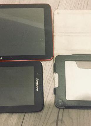 два планшета LG та Lenovo на запчастини