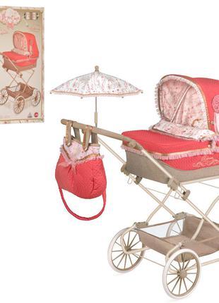 Коляска для кукол DeCuevas 82033 Martina с сумкой и зонтиком