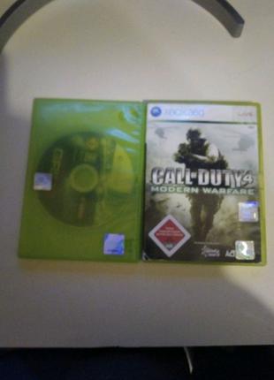Xbox 360+4 игры