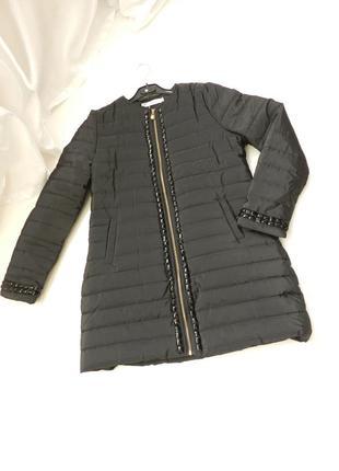 ✅  пальто куртка с камнями  стразами  евро зима  46-48 в прода...