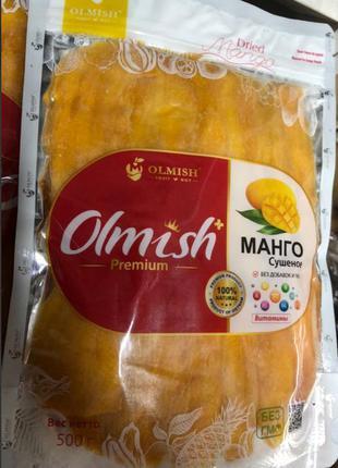 Сушеное манго Olmish 500г