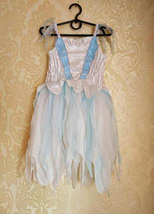 Платье зимней феи,карнавальный костюм,зима,снежинка бренд mark...