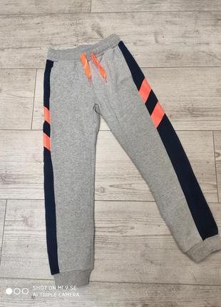 Спортивные штаны джоггеры утеплённые с начесом 140 cool club