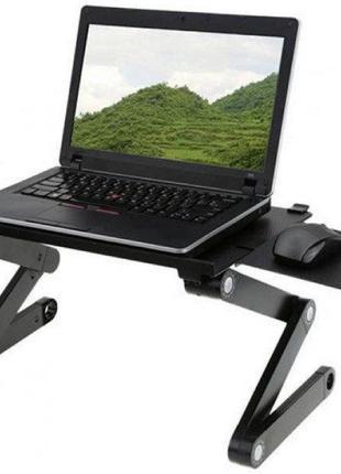Портативный Стол-подставка трансформер для ноутбука 00059. Лучшая