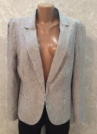 Пиджак жакет льняной f&f