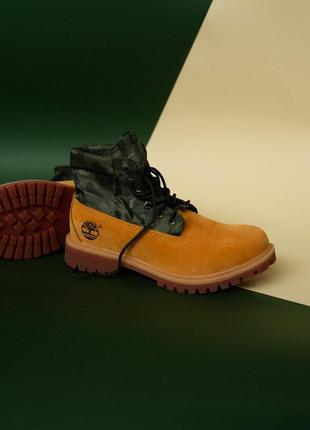 Ботинки демисезонные тimberlad military ginger