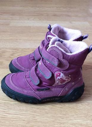 Зимние ботинки geox 25 размера в отличном состоянии