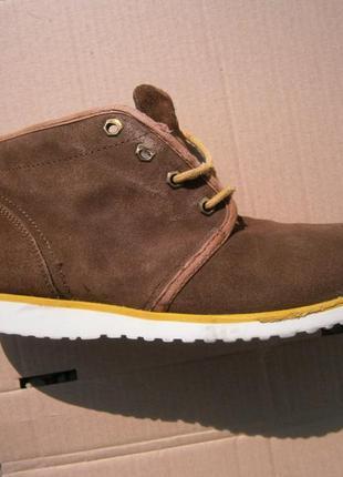 Ботинки fila оригінал натуральна замша