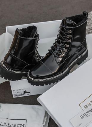 Balmain Luxury Fur Boot