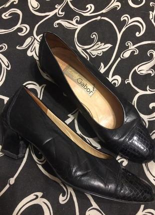 Lady gabor туфли кожаные