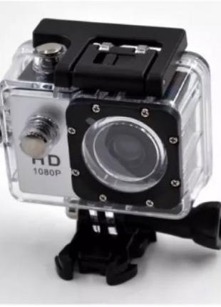 Экшн камера A7 FullHD + аквабокс + Регистратор Полный компект+кре
