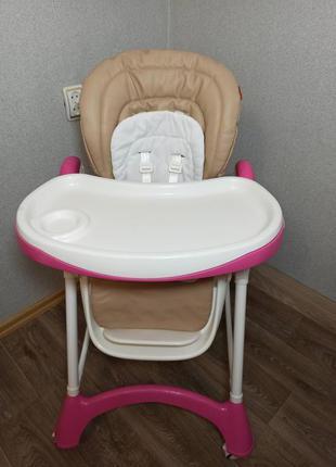 Столик для кормления, годування, стульчик Carello