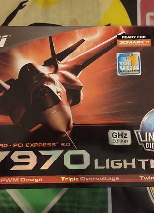 Продам рабочую MSI R7970 Lightning GHZ 3GB GDDR5 (Hynix)