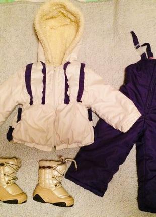 Полукомбинезон и куртка (зима)