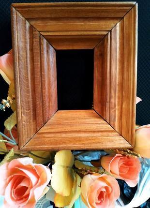 Рамка деревянная резная ручная работа