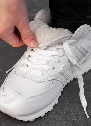 Кроссовки нью беланс new balance white (mex)