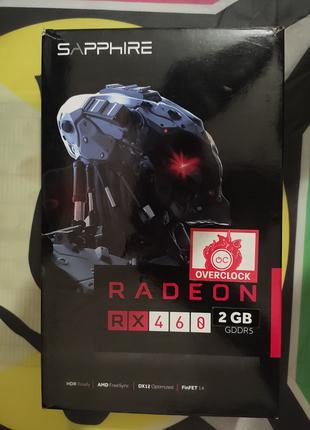 Продам рабочую Sapphire RX 460 2GB GDDR5 (Hynix)
