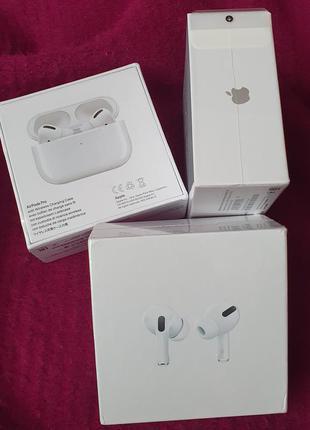 Наушники Apple Airpods Pro 1:1 /  IMEI в настройках /Шумодав