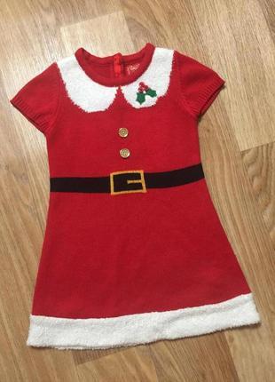 Новогоднее детское платье / новогодний костюм для девочки