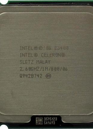 Процессор Intel Dual-Core E3400 (сокет 775)