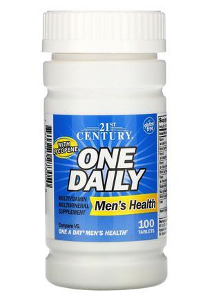 Мультивитамины One Daily для мужского здоров. 100таб 21st Century