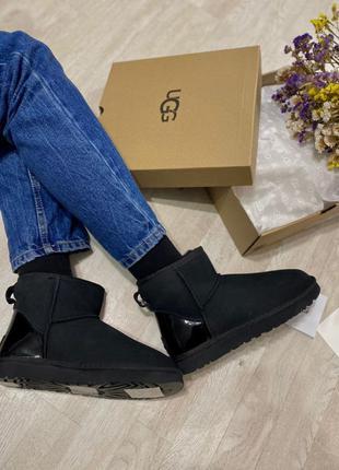 Ugg classic mini black metallic🆕 шикарные женские угги 🆕 купит...