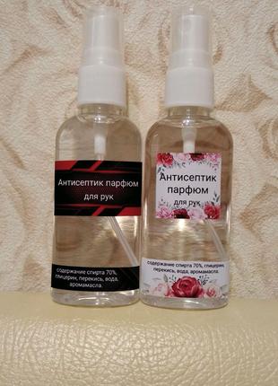 Антисептик-парфюм для рук.