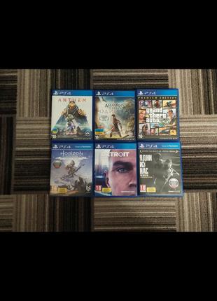 Продам/Обменяю игры PS4.