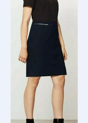 Платье-футляр с тёплым низом mint velvet , шерсть
