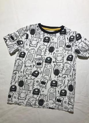 Детская футболка tu ( ту 4-5 лет 104-110 см идеал оригинал раз...
