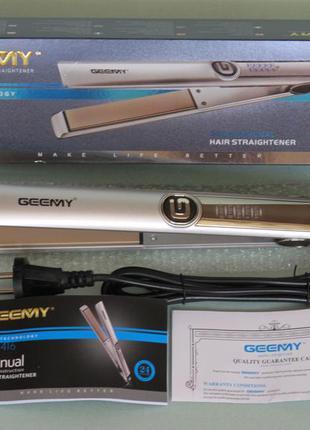 Выпрямитель утюжок для волос geemy gm-416