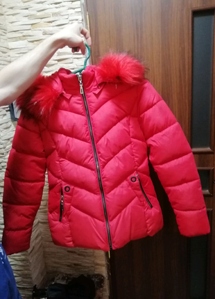 Куртка зимова тепла на синтепон 250 нова розмір 40