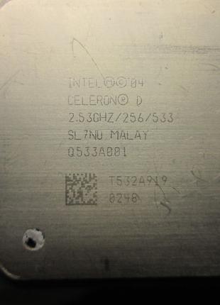Процессор INTEL 04 CELERON D 2.53 GHZ/256/533 SL7NO Socket PLGA77