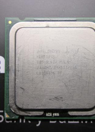 Процессор INTEL 04 PEN. 805 SL8ZH 2.66 GHZ/2M/533 Socket PLGA775