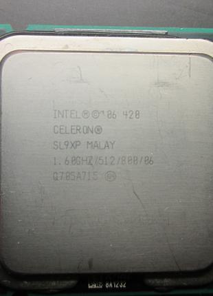 INTEL 06 420 CELERON SL9XP MALAY 1.60 GHZ/512/800/06 Socket LGA77
