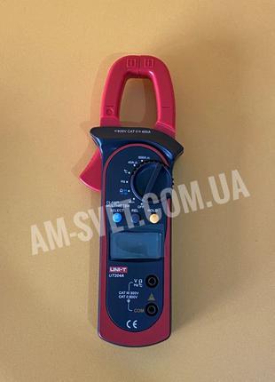 Токовые клещи Uni-t UT204A мультиметр тестер