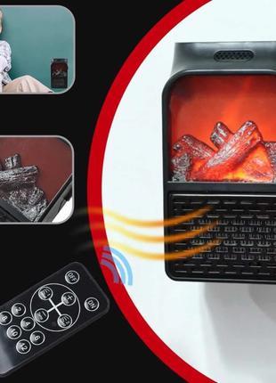 Камин обогреватель c LCD дисплеем 500W с ПУЛЬТОМ