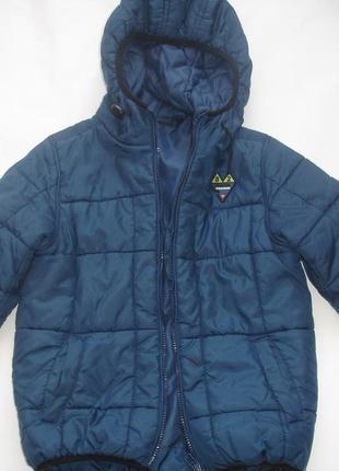 Фирменная next деми куртка мальчику 7-8 лет отличная