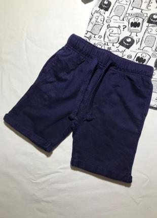 Детские шорты tu ( ту 4-5 лет 104-110 см идеал оригинал синие)
