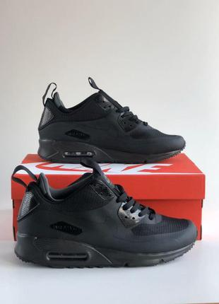 Кроссовки nike air max mid winter 90 termo